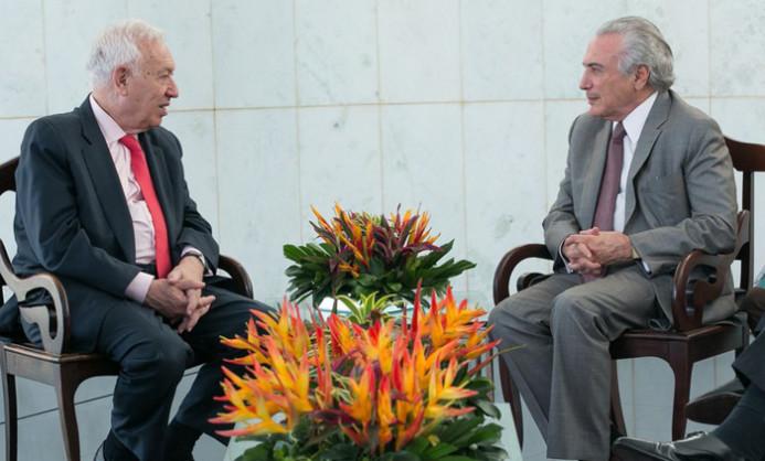 Garcia-Margallo y Michel-Temer